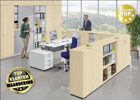 PROFI MODUL - Het professionele bureaumeubelsysteem voor de hoogste vereisten.