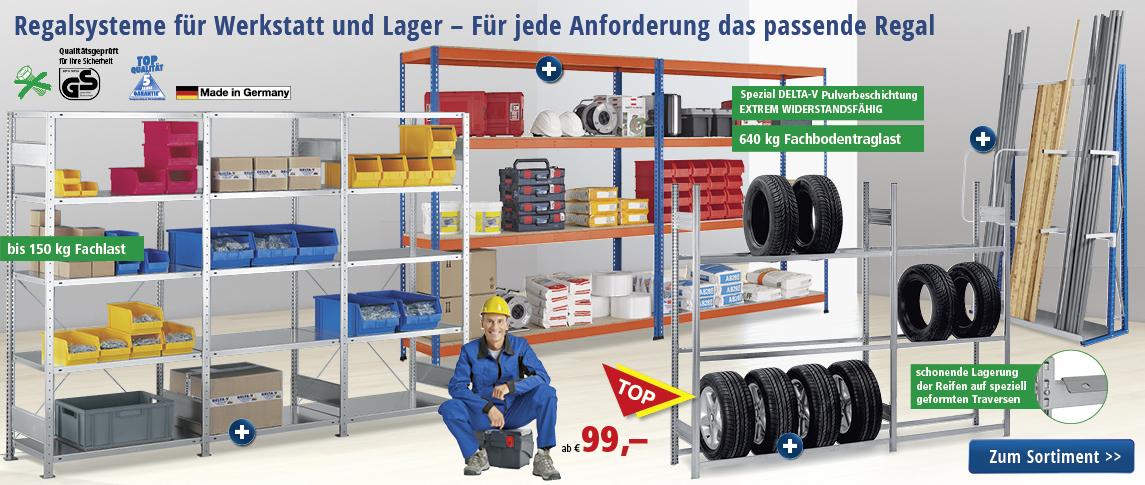 Lager-Einrichtung | bequem online bestellen bei DELTA-V :: Büromöbel ...