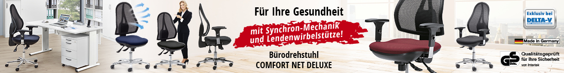 Bürodrehstuhl COMFORT NET DELUXE DELTA-V