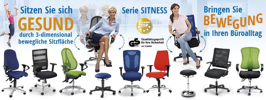 Bewegtes Sitzen - die Drehstühle von DELTA-V