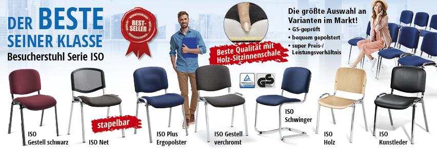 Besucherstühle SERIE ISO von DELTA-V