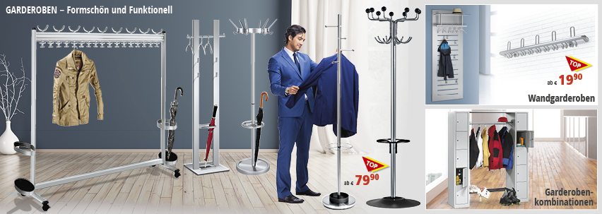 Garderoben von DELTA-V