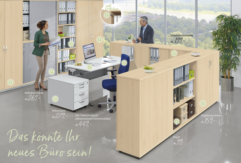 PROFI MODUL - Das professionelle Büromöbelsystem für höchste Ansprüche