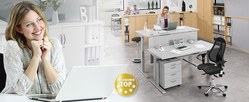 Büromöbelsystem PORFI MODUL von DELTA-V