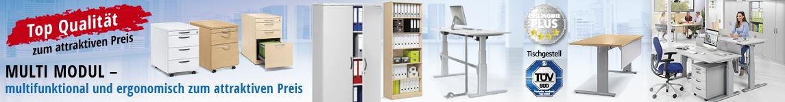Attraktive Bürolösungen in Top-Qualität - MULTI MODUL von DELTA-V