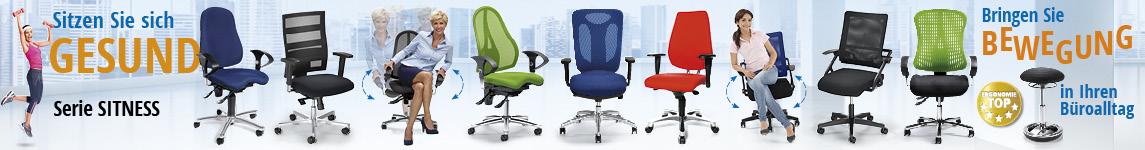 Sitness - Bewegtes Sitzen von DELTA-V