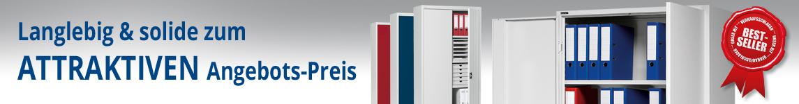 Top Angebots Flügeltüren-Stahlschrank