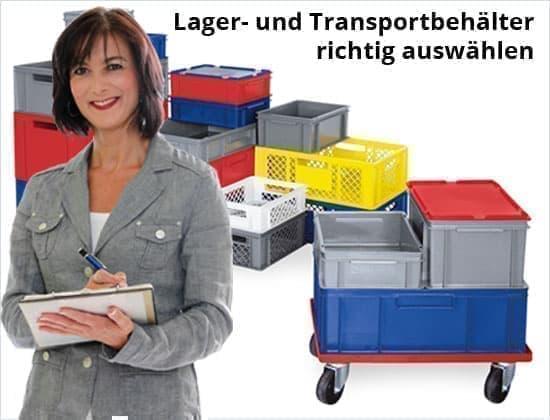 DELTA-V Ratgeber:  Lager- und Transportbehälter richtig auswählen