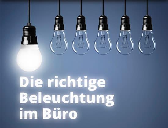 DELTA-V Ratgeber: Die richtige Beleuchtung im Büro