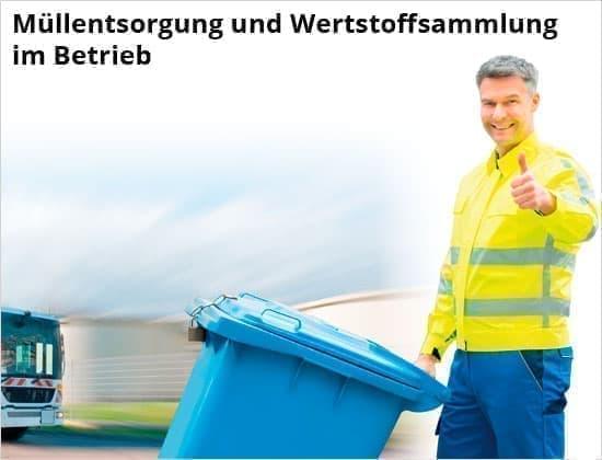 DELTA-V Ratgeber: Müllentsorgung und Wertstoffsammlung im Betrieb