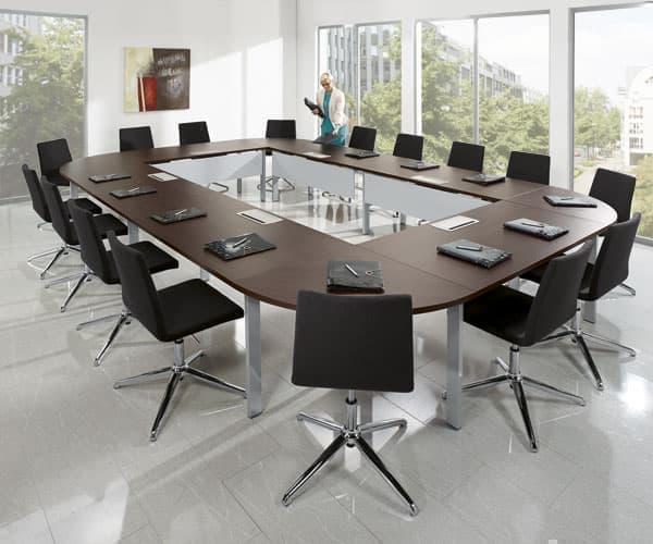 konferenztische bequem online bestellen bei delta v b rom bel b roeinrichtung. Black Bedroom Furniture Sets. Home Design Ideas