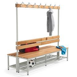 Sitz- und Garderobenbänke