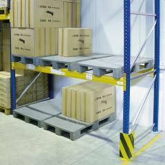 Schwerlastpalette, 3 Kufen Euromaß bis 7.500 kg statisch