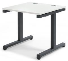 Schreibtisch BASIC 2.0 MULTI MODUL Weiß | 800 | Anthrazit RAL 7016