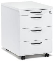 Rollcontainer MULTI MODUL Weiß | 600 | mit Schubladen
