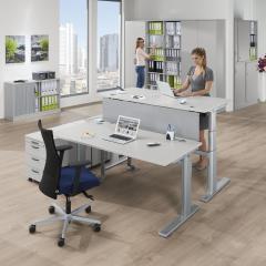 Sitz-/ Stehschreibtische COMFORT MULTI MODUL