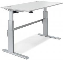 Sitz-/Stehtisch Comfort MULTI MODUL Lichtgrau | 1200 | Rechteck