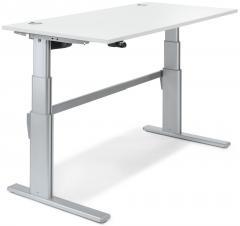 Sitz-/Stehtisch Comfort MULTI MODUL Weiß | 1200 | Rechteck