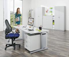 SET-Angebot - Schreibtisch mit Rollcontainer