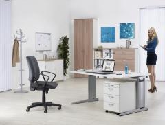 SET Einzelarbeitsplatz PROFI MODUL Weiß