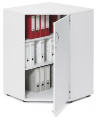 Eckschrank PROFI MODUL Weiß | 780 mm (2OH)