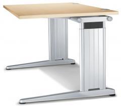Schreibtisch C-Fuß PROFI MODUL Ahorndekor | 800