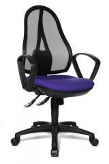 Bürodrehstuhl COMFORT NET inkl.Armlehnen, Fußkr. schwarz