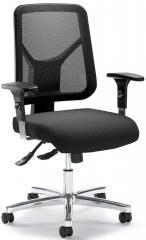 Bürodrehstuhl COMFORT R NET DELUXE mit Armlehnen