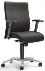 Bürodrehstuhl DV 30 inkl. Armlehnen Dunkelgrau   verstellbare Armlehnen