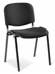 Besucherstuhl ISO Bezug DELTA1 - Gestell schwarz