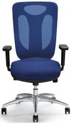 Bürodrehstuhl SITNESS 80 NET inkl. Armlehnen Blau