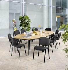 SET-ANGEBOT Besprechungstisch BASE-MODUL + 10 Stühle
