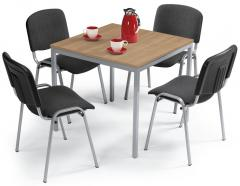 SET-Angebot - 1x Tisch MODUL + 4x Besucherstuhl ISO