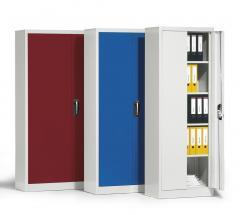 Flügeltüren-Stahlschränke ERGO LOCK 4.0, Türen versch. Farben