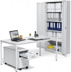 Top Angebot, SET: 1 x Schrank, 1 x Tisch, 1 x Container