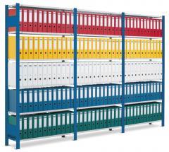 Steckregal ST 3000 - blauer Rahmen