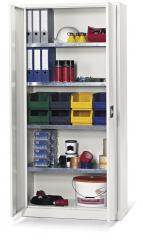 Top Angebots-Materialschrank B 920 mm Lichtgrau RAL 7035 | 920