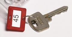 Lose Schlüsselanhänger in einer Farbe