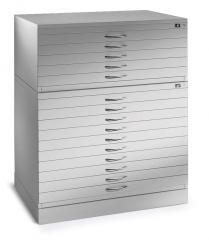Zeichnungs-/Materialmusterschränke DIN A1 und DIN A0