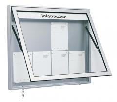Schaukasten für den Innen und Außen, div. Formate