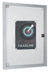Plakatvitrine / Informationsvitrine flach, diverse Maße
