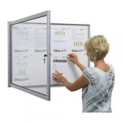 Flügeltür-Schaukasten für den Innen- und Außenbereich
