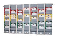 Set-Angebot 7 Planungstafeln inkl. Wandprofil