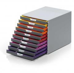 Design-Schubladenbox VARICOLOR mit 10 Schüben