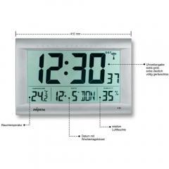 Digitale LCD-Funkwanduhr