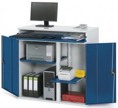 Computerschränke, Platz für Monitor und wahlweise mobil