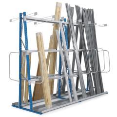 Vertikalregale für Langgüter