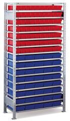 Stahl-Steckregale für Regalkästen