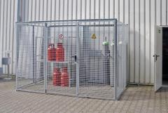 Gasflaschen Container GFC feuerverzinkt