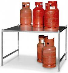 Gasflaschengestell Typ GFG, verzinkt